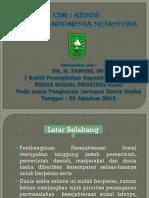 CSR KESOS Menuju Indonesia Sejahtera