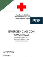 Emergencias Con Amoniaco