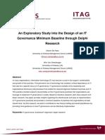 Soalan Study Design of IT Gov Delphi Research