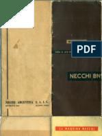 NECCHI BN - Manual de Instrucciones Máquina Para Coser