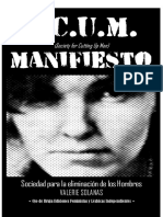 Valerie Solanas - Manifiesto S.C.U.M.