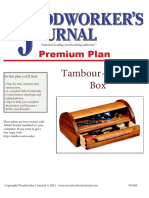 Tambour Topped Box