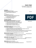 updated resume 112015