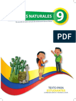 Libro de Estudiante Ciencias Naturales 9no
