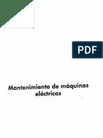 Mantenimiento de Maquinas Electricas (Juan José Manzano Orrego) Paraninfo
