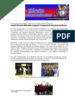 Cuarta División Blindada organizó Campeonato Nacional de Boxeo