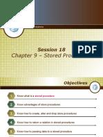 16 - Chapter 9 - Stored Procedures
