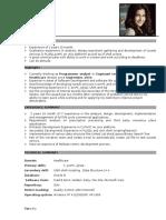 Professional Resume Format (3)