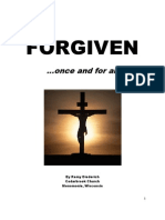 Forgiven...once and for all