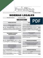 Normas Legales, lunes 4 de enero del 2016