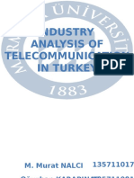 Industry Analysis of Telecommunication in Turkey
