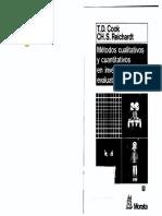 Cook y Reichardt Metodos cualitativos y cuantitativos de investigacion