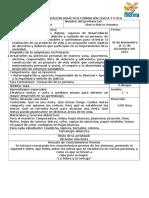 Narración y Analisis 4 Planeación Formación Civica y Etica