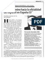 4a. (T2-T3-T4) González Ollé Oficialización Español 1
