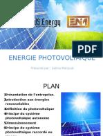 Présentation photovoltaique
