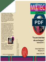 Mixtec Summit 2016 Brochure