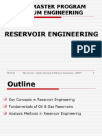 68180091 Reservoir Engineering