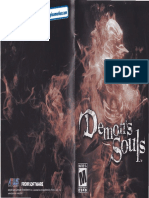 Demons Souls - Manual - PS3