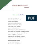 El Entierro de Los Muertos-t. s. Elliot (Poema)