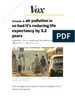 indias air pollution is so bad its reducing life expectancy by 3 2 years - vox