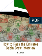 How to Pass the Emirates Cabin Crew Interview_ an Insnterview Process, And What It Takes to Succeed - R. J. Hogan