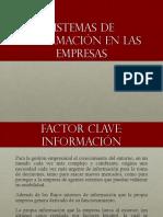 Sistemas de Información en Empresas