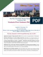 Student Programs-2016-2017 Graduate Info