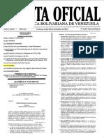 LEY de SEMILLAS publicada en la Gaceta Oficial Extraordinaria 6 207