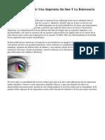 Factores Para Elegir Una Imprenta On line Y La Relevancia Del Diseño