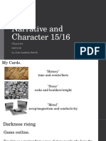 Character crit 2015/2016