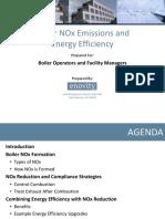 Boiler NOx and Energy Efficiency 2010