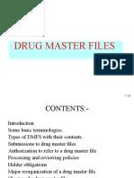 Drug Master Files