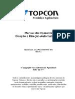 Manual de Instruções Piloto Auxiliar Topcon X30