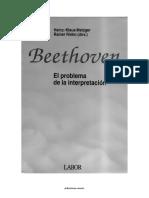 REV22-Beethoven-El Problema de La Interpretacion-Metzger y Riehn