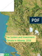 Tax System and Investment Climate in Albania, 2016