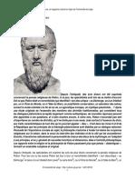 Platon Une Théologie Philosophique
