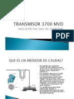 Transmisor 3700 Mvd