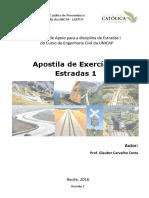 Apostila Estradas 1 Unicap 2016 Rev01