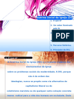 Doutrina Social Da Igreja - Ecc 3 Etapa - Professor Mauro