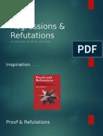Regressions and Refutations