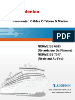 BS6883&BS7917 Caledonian Câbles Offshore & Marine