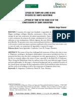 A CONCEPÇÃO DE TEMPO NO LIVRO XI DAS CONFISSOES SANTO AGOSTINHO.pdf