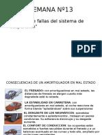 fallas direccion y suspension automotriz(Cuadro de Fallas)