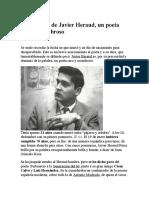 Los 70 Años de Javier Heraud