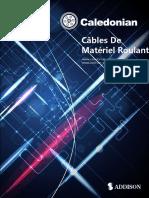 Norme EN 50264 Câbles de Matériel Roulant
