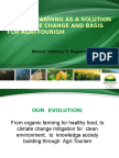 Organic Farming as a Solution to Climate Change and Basis for Agri-Tourism