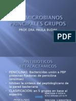 2. Antimicrobianos Principales Grupos- Dra. Budini