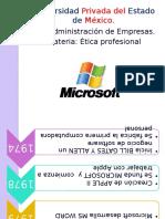 Cronologia Microsoft