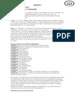 Ministério de Louvor -Estudo 1