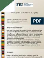 Principles Aseptic Surgery